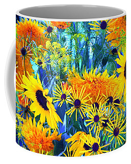 Coffee Mug featuring the photograph Summer Bouquet by Byron Varvarigos