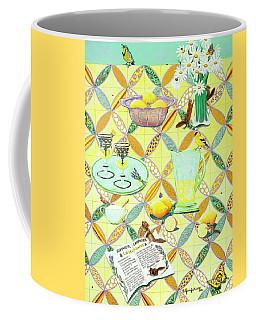 Summer Lavender Lemonade Coffee Mug