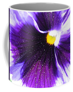 Sunburst Pansy Coffee Mug
