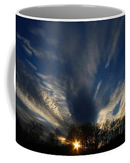 Sundown Skies Coffee Mug by Kathryn Meyer