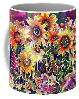 Sunflower Garden Coffee Mug