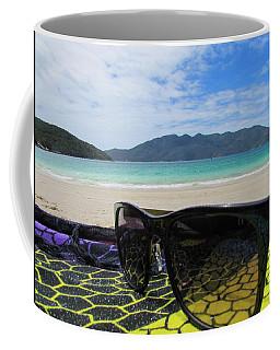 Sunglasses Coffee Mug by Cesar Vieira