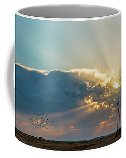 Sunrise And Windmill -01 Coffee Mug