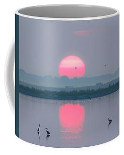 Sunrise At Cheyenne Bottoms -02 Coffee Mug