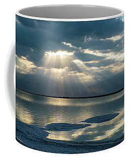 Sunrise At The Dead Sea Coffee Mug
