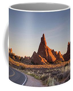Sunrise In Arches National Park Coffee Mug