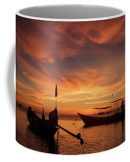 Sunrise On Koh Tao Island In Thailand Coffee Mug