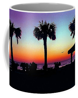 Sunrise On Ormond Beach Coffee Mug