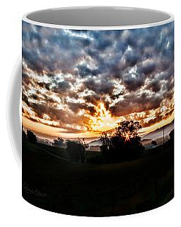 Sunrise Over Fields Coffee Mug