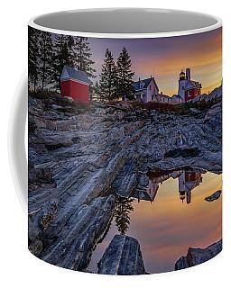 Sunrise At Pemaquid Point II Coffee Mug