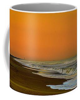 Sunset At Duck Coffee Mug