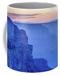 Sunset At South Rim Coffee Mug
