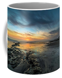 Sunset At Swamis Beach Coffee Mug