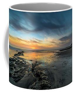 Sunset At Swamis Beach Coffee Mug