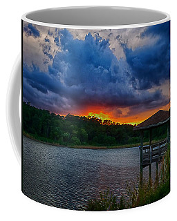 Coffee Mug featuring the photograph Sunset Huntington Beach State Park by Bill Barber
