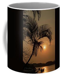 sunset Huong river Coffee Mug