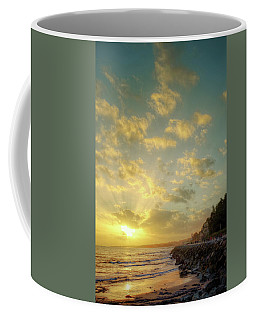 Coffee Mug featuring the photograph Sunset In The Coast by Carlos Caetano