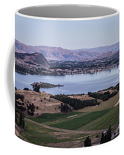 Sunset Over Lake Wanaka In New Zealand Coffee Mug