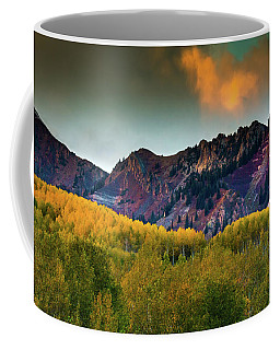 Coffee Mug featuring the photograph Sunset Over The Anthracite Range by John De Bord