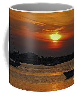 Coffee Mug featuring the photograph 1- Sunset Over The Intracoastal by Joseph Keane