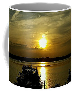 Sunset Over The Potomac Coffee Mug