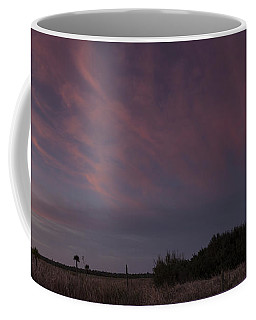 Sunset Over The Wetlands Coffee Mug