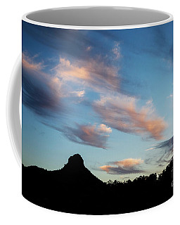 Sunset Over Thumb Butte Coffee Mug