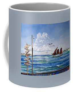 Schooner Jolly II Key West Florida Coffee Mug