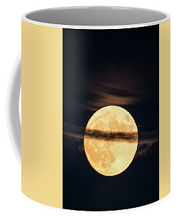 Supermoon Coffee Mug by Michael Nowotny