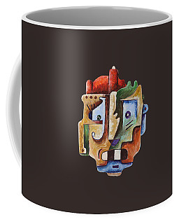 Surrealist Head Coffee Mug