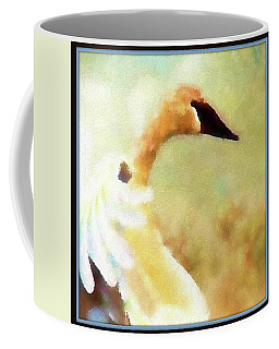 Swan Sense Coffee Mug by Kathy Bassett
