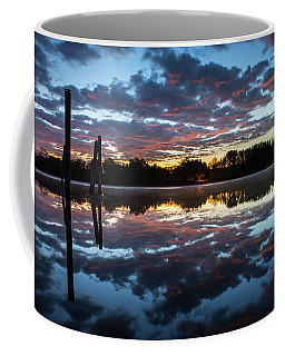 Symetry On The River Coffee Mug