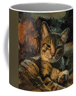 Tabby Nap Coffee Mug