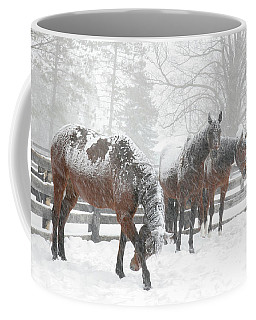 Coffee Mug featuring the photograph Tails To The Wind by Gary Hall