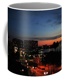 Coffee Mug featuring the photograph Tampa Twilight by Gary Wonning