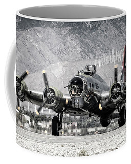 B-17 Bomber Madras Maiden  Coffee Mug