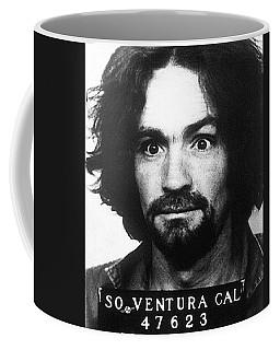 Charles Manson Mug Shot 1969 Vertical  Coffee Mug