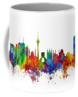 Tehran Iran Skyline Coffee Mug