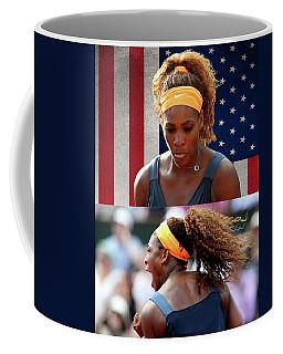Tennis Star Serena Williams  Coffee Mug