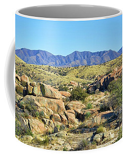 Texas Canyon Arizona Coffee Mug by Diana Mary Sharpton