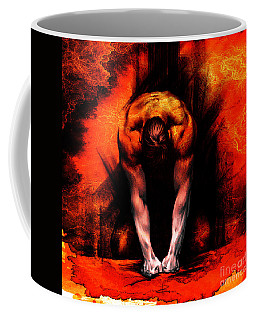 Textured Anger Coffee Mug