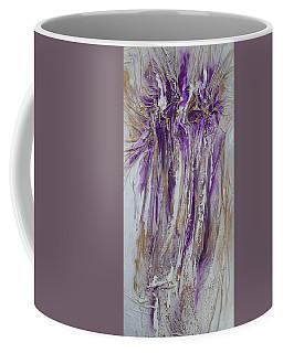 Textured Purple And Gold Series 2 Coffee Mug
