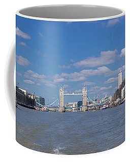 Coffee Mug featuring the photograph Thames View by Stewart Marsden