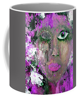 Coffee Mug featuring the digital art The Absentminded Sentiment by Lisa Kaiser