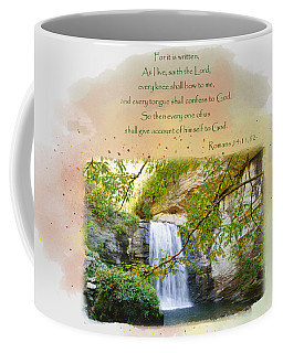 Coffee Mug featuring the photograph The Accounting by Larry Bishop