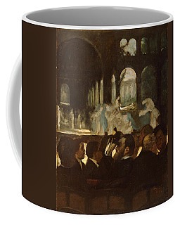 Coffee Mug featuring the painting The Ballet From Robert Le Diable by Edgar Degas