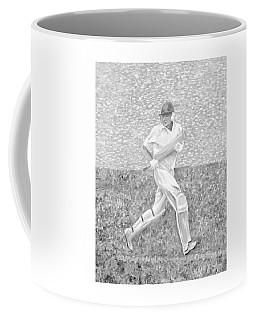 The Batsman Coffee Mug by Elizabeth Lock