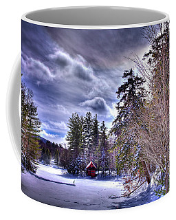 Coffee Mug featuring the photograph The Beaver Brook Boathouse by David Patterson