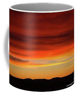 The Buttes At Sundown Coffee Mug