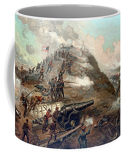 The Capture Of Fort Fisher Coffee Mug
